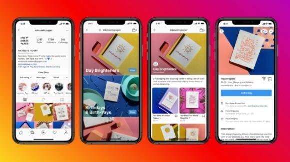Instagram: test pubblicità in Shop, rumors su liste utenti