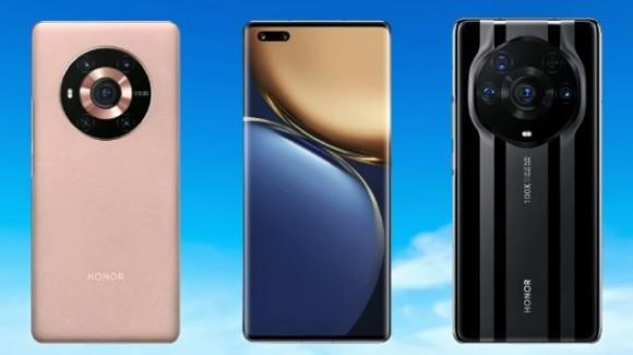 Honor Magic 3 series: ufficiali i cameraphone top gamma anche in versione Pro e Pro Plus