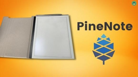 PineNote: ufficiale l'ebook reader open con Linux e penne capacitive