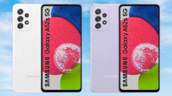 Galaxy A52s: ufficiale il nuovo medio-gamma 5G targato Samsung