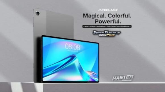 Teclast T40 Plus: ufficiale il tablet 4G con quattro speaker e Android 11