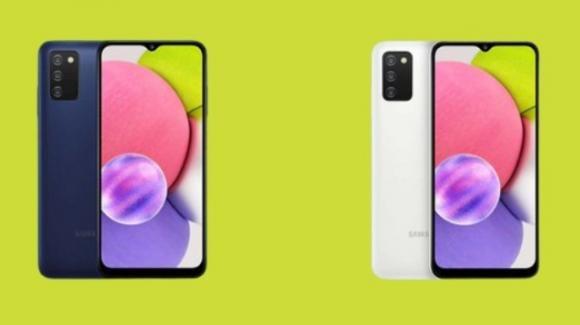 Galaxy A03s: ufficiale il nuovo smartphone low cost di Samsung