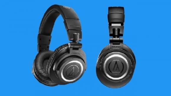 Audio Technica presenta la cuffie ibride ATH-M50xBT2 con DAC e maxi autonomia