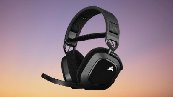 HS80 RGB Wireless: ufficiali le nuove cuffie da gaming di Corsair