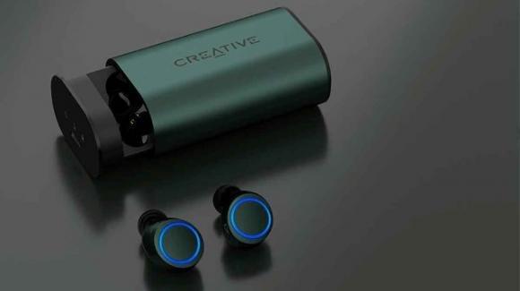CreativeOutlier Air V3: ufficiali i nuovi auricolari tws con audio olografico e riduzione attiva del rumore