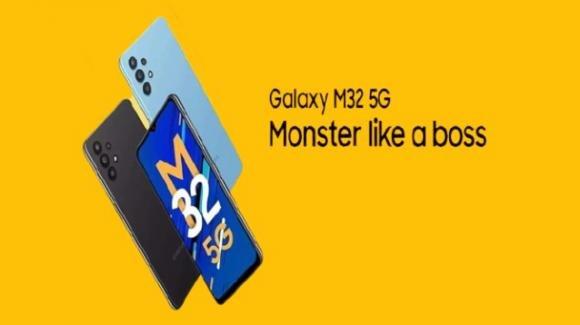Galaxy M32 5G: ufficiale il medio-gamma di Samsung ora aggiornato al 5G