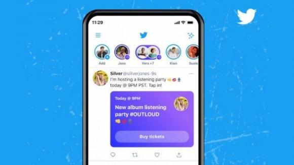 Twitter inizia a vendere l'accesso agli Spaces: ecco come
