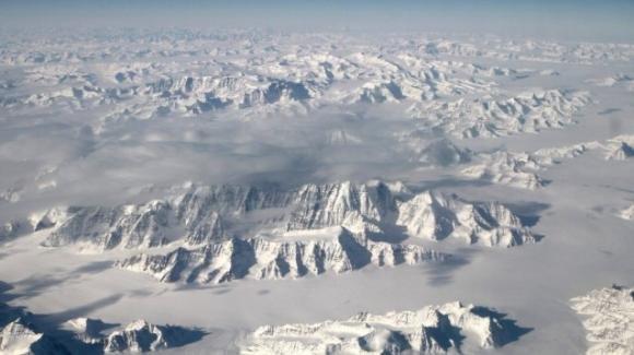 Groenlandia: piove per la prima volta sulla calotta glaciale