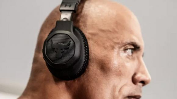 Project Rock Over-Ear Training: cuffie sportive by JBL e Under Armour firmate The Rock