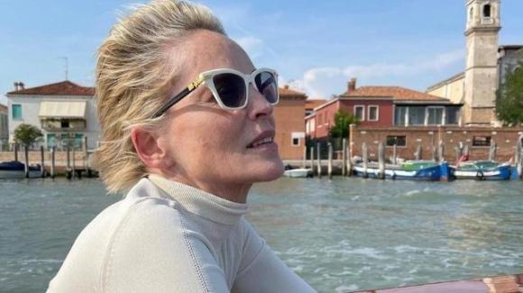 Mostra del Cinema, Sharon Stone costretta a lasciare precipitosamente Venezia