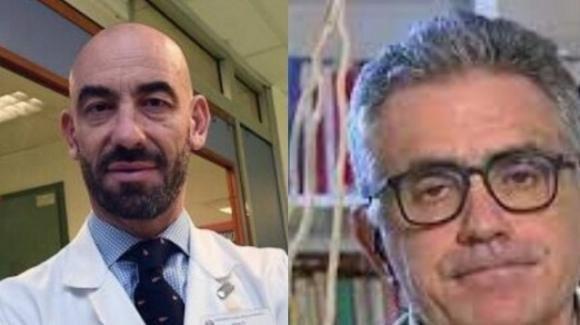 Bassetti e Pregliasco sotto il mirino dei no-vax: minacce, stalking, aggressioni