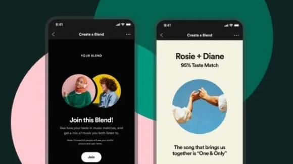 """Spotify: ufficiale la playlist duale """"Blend"""", al via la vendita di abbonamenti per podcast"""