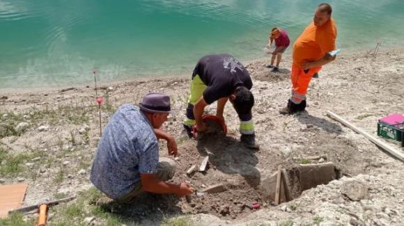 Antica necropoli romana scoperta a Castel di Tora
