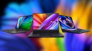 Asus a valanga con notebook e computer per creativi e professionisti