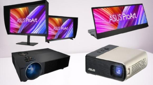 Asus presenta diversi display, monitor portable ed anche proiettori