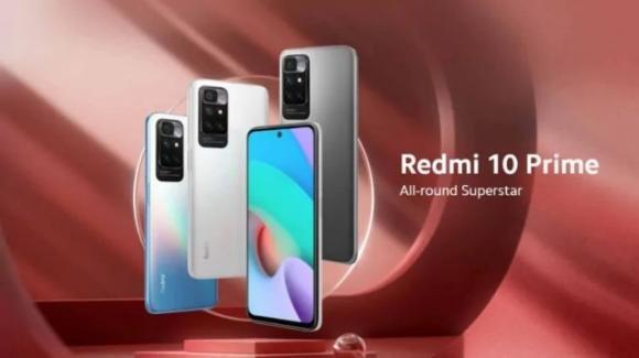 Redmi 10 Prime: ufficiale il medio-gamma di Xiaomi con maxi batteria, Hz adattivi e ricarica inversa