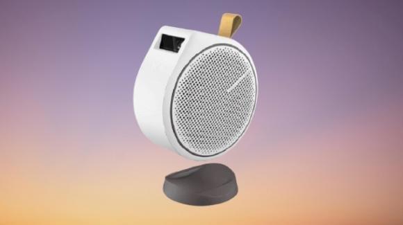 BenQ GV30: ufficiale il proiettore smart a forma di coccinella, con Android TV