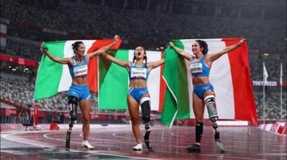 L'Italia trionfa nelle paralimpiadi: vinte 69 medaglie