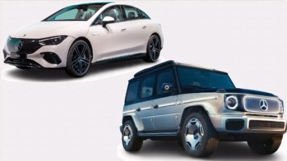 Berlina MercedesEQE o fuoristrada Concept EQG: Mercedes punta forte sull'elettrico