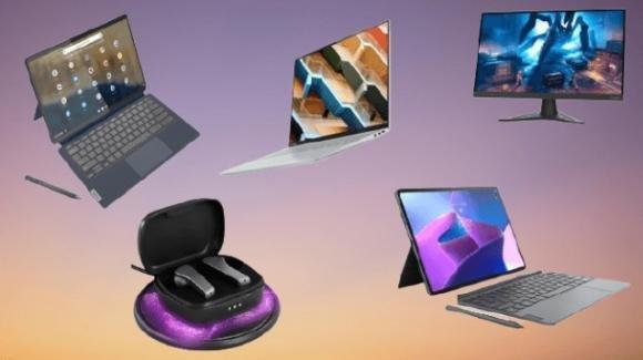 Tech World 2021: Lenovo annuncia notebook, Chromebook, tablet, monitor e auricolari