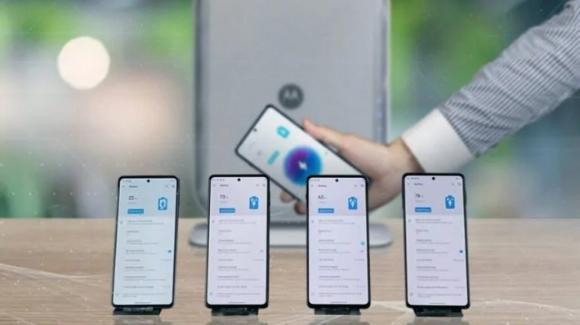 Motorola rivoluziona la ricarica wireless a distanza