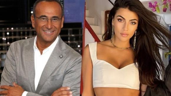 """Carlo Conti invita Giulia Salemi a """"Tale e quale show"""": """"Prima o poi toccherà anche a lei"""""""