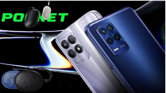 Realme presenta gli smartphone Realme 8s e 8i con 5G e due speaker low cost