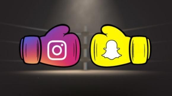 Sfida a distanza tra Instagram con i pronomi di genere e Snapchat con Compleanno mini