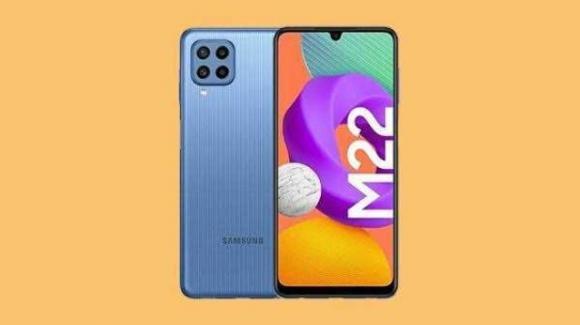Samsung Galaxy M22: ufficiale il medio-gamma con AMOLED da 90 Hz