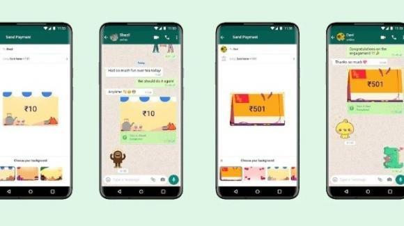 Payments Background: i WhatsApp Payments si arricchiscono dello sfondo di contesto