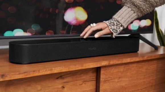 Sonos Beam: la seconda generazione, attenta ai nuovi formati, parte dal Dolby Atmos