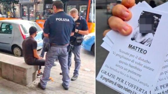 Napoli, truffa la gente speculando sui bimbi malati: un giornalista chiama la Polizia, fermato