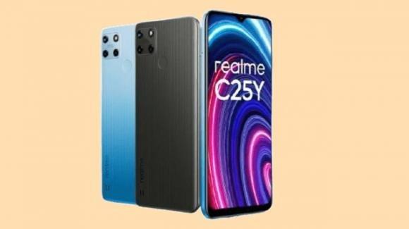 Realme C25Y: ufficiale lo smartphone low cost con ampia batteria e 50 mpx posteriori