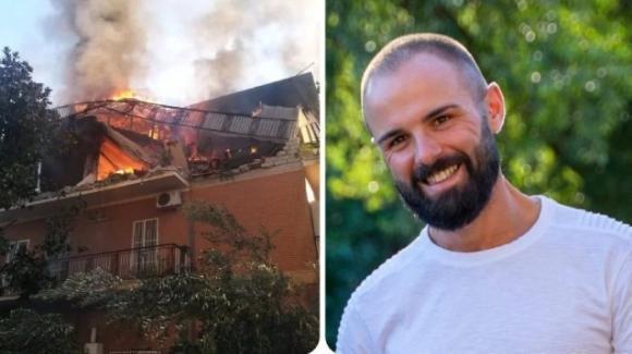 Davide perde la casa nell'esplosione a Torre Angela ma salva il suo vestito da sposo