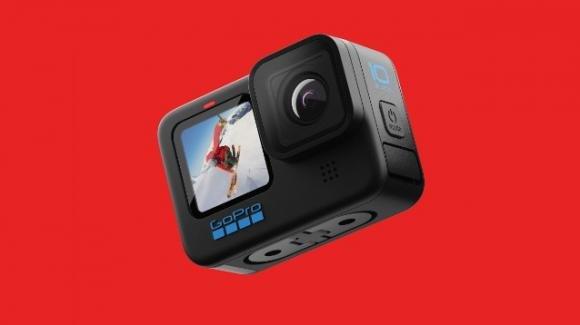 GoPro presenta la action camera Hero 10 Black a elevato framerate