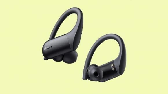 AUKEY EP-T32: auricolari over-ear Bluetooth con microfono integrato