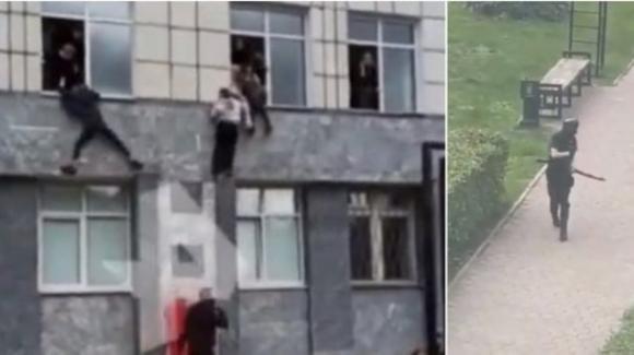 Russia, attacco armato all'Università di Pern: otto morti