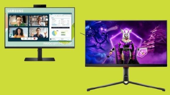 Samsung e AOC annunciano nuovi monitor per professionisti e gamers
