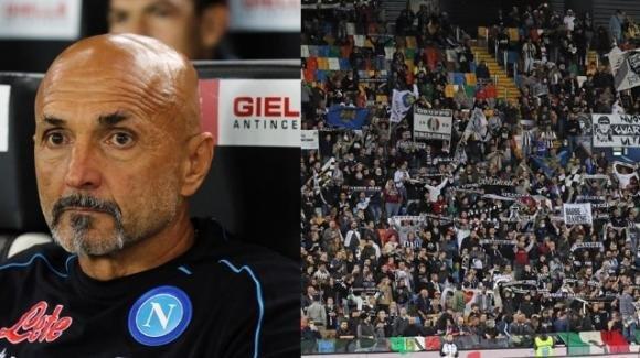 """Serie A: """"Vesuvio lavali col fuoco"""", cori indecenti durante Udinese-Napoli"""