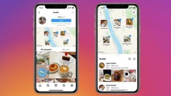 Tra tanti rumors, Instagram rilascia la funzione Cerca sulla mappa