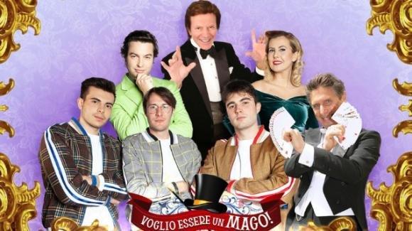 """""""Voglio essere un mago"""", le novità sul nuovo reality di Raul Cremona e il Mago Silvan"""