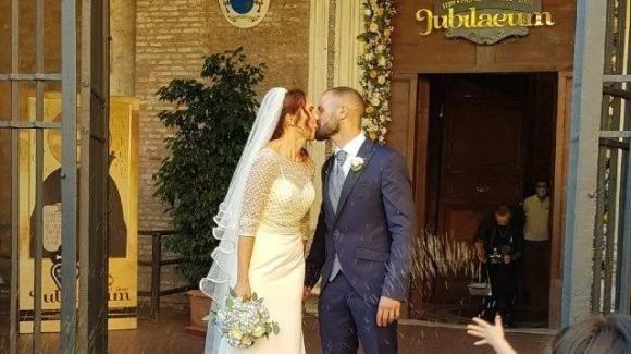 Davide ed Emanuela sposi: 3 giorni prima hanno perso casa nell'esplosione a Torre Angela