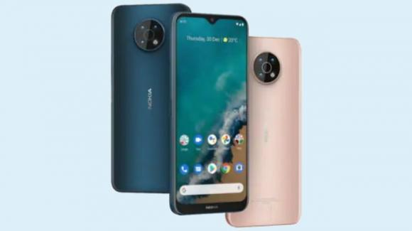 Nokia G50: ufficiale il medio-gamma entry level con Android 11 e 5G