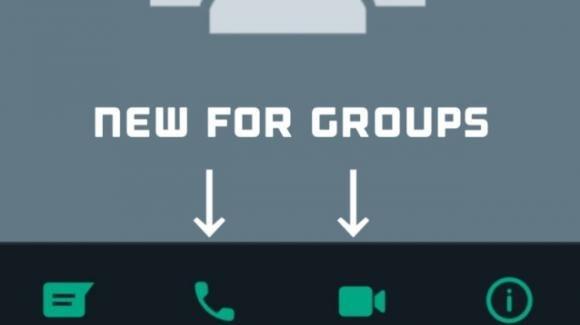 WhatsApp: in roll-out le scorciatoie verso le chiamate sulla scheda dei gruppi