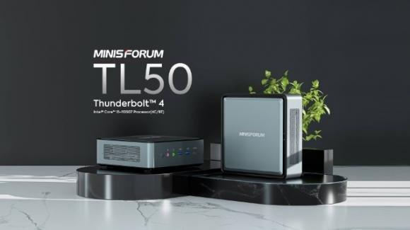 Minisforum EliteMini TL50: ufficiale il minicomputer con Intel i5 di 11a gen