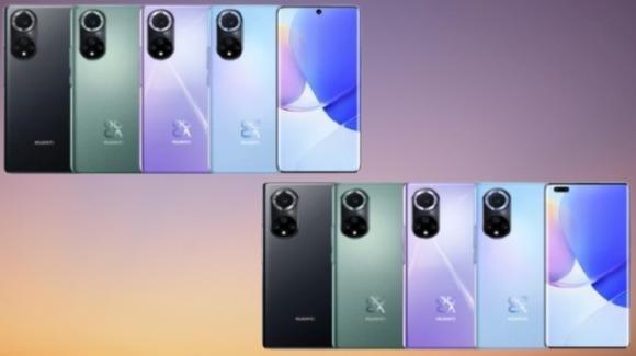 Huawei presenta i nuovi mediogamma Nova 9 e Nova 9 Pro con Harmony OS