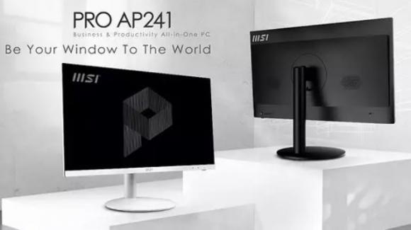 MSI Pro AP241: ufficiale il computer all-in-one con Windows 10 Pro