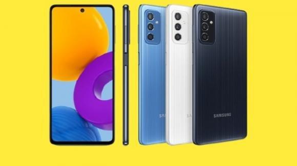 Galaxy M52 5G: ufficiale in Europa il medio gamma Samsung