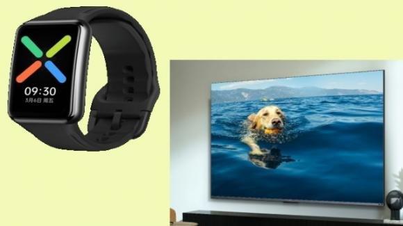 Da Oppo anche il wearable Oppo Watch Free e la Smart TV K9 da 75 pollici in 4K