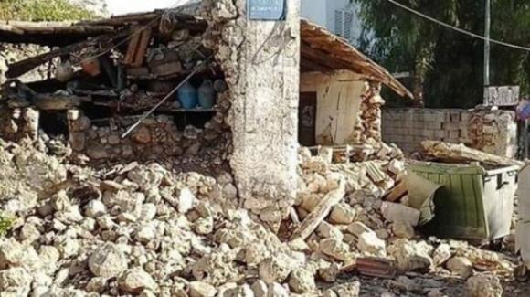 Creta, terremoto di magnitudo 6.5: una persona è morta